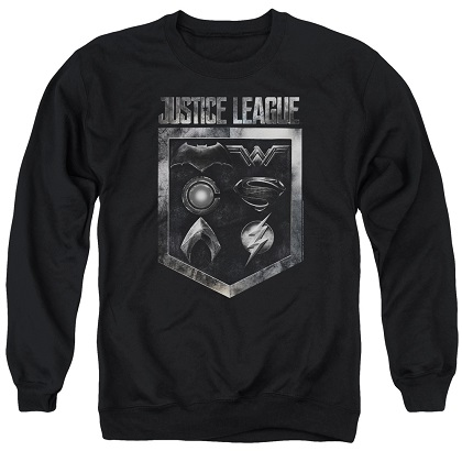Justice League Logo Emblem Crewneck Sweatshirt