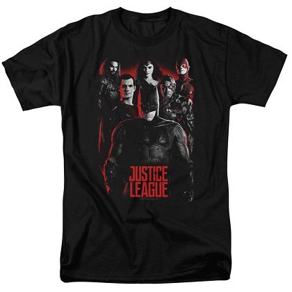 Justice League Movie Poster Tshirt