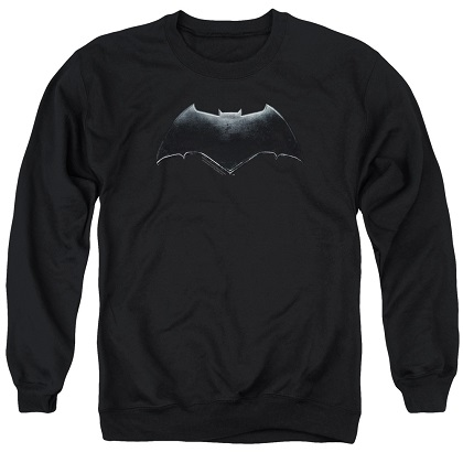 Batman Logo Justice League Crewneck Sweatshirt