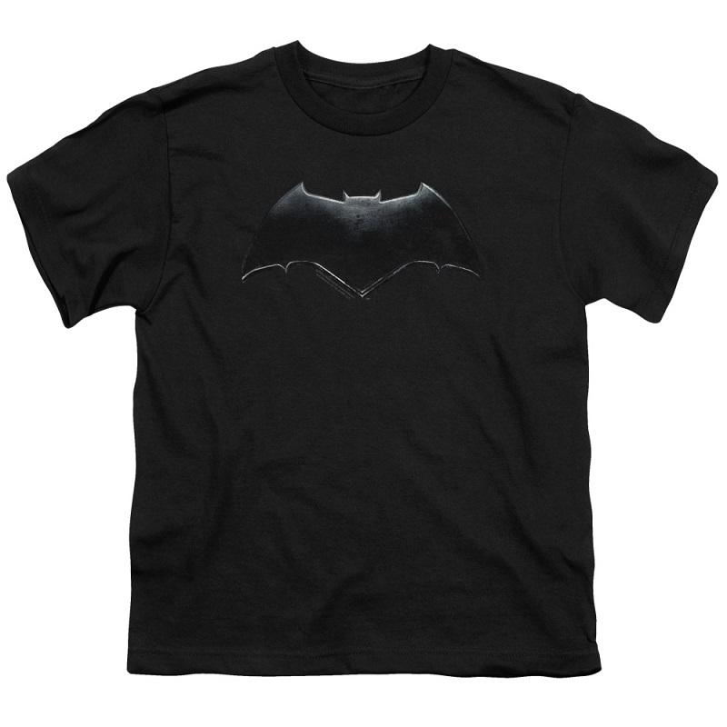 Justice League Batman Logo Youth Tshirt
