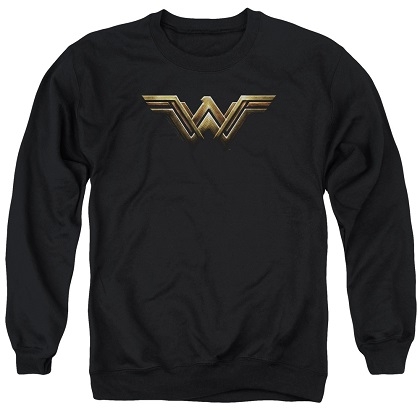 Wonder Woman Logo Justice League Crewneck Sweatshirt