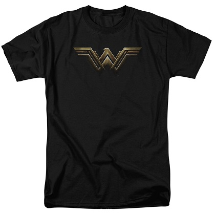 Justice League Wonder Woman Logo Tshirt