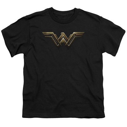 Justice League Wonder Woman Logo Youth Tshirt