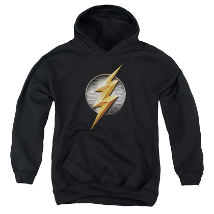 Justice League Flash Logo Youth Hoodie