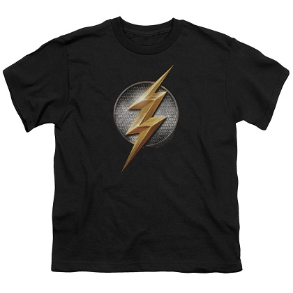 Justice League Flash Logo Youth Tshirt