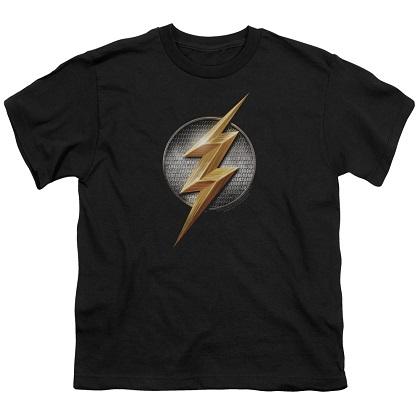 Justice League Flash Logo Youth Tshirt