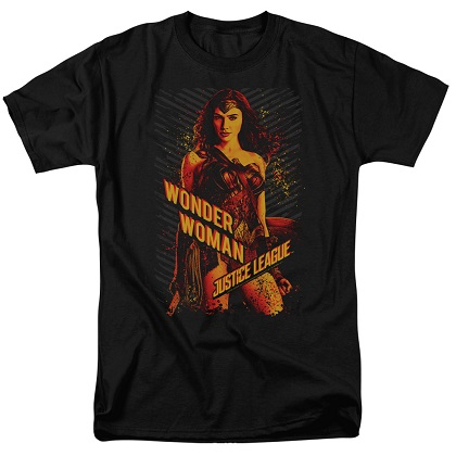 Justice League Wonder Woman Tshirt