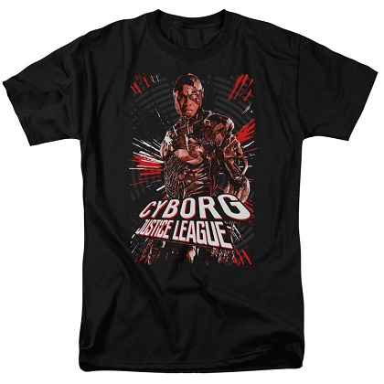Justice League Cyborg Tshirt