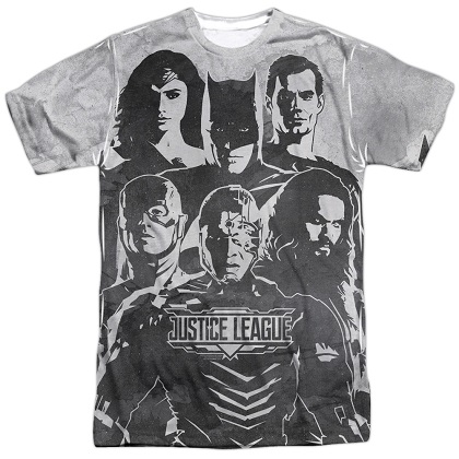 Justice League The League Tshirt