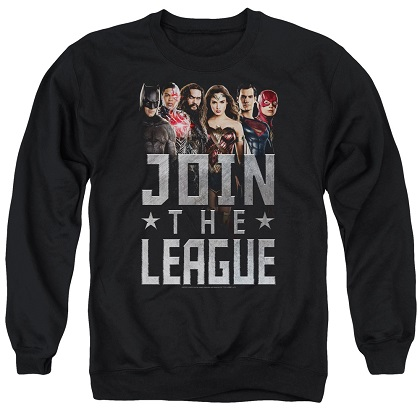 Justice League Join The League Crewneck Sweatshirt
