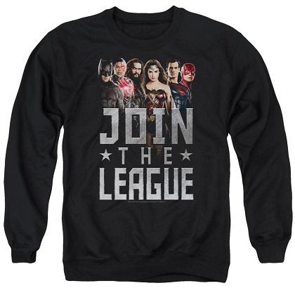 Justice League Join The League Crewneck Sweatshirt