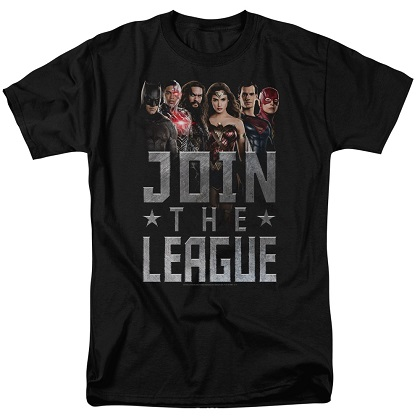Justice League Join The League Tshirt
