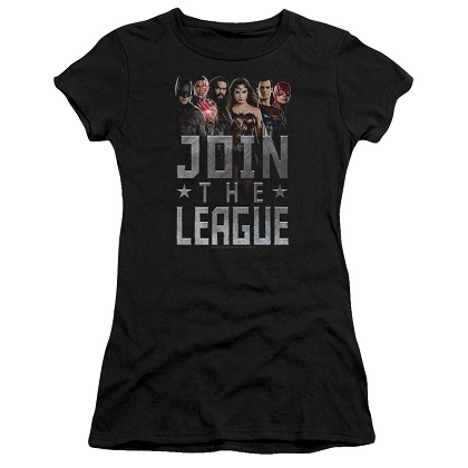 Justice League Join The League Women's Tshirt
