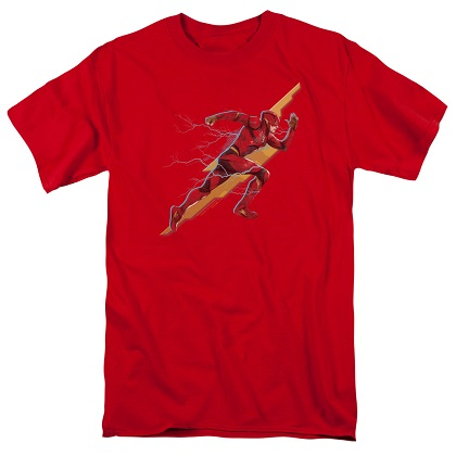 Justice League The Flash Sprint Red Tshirt