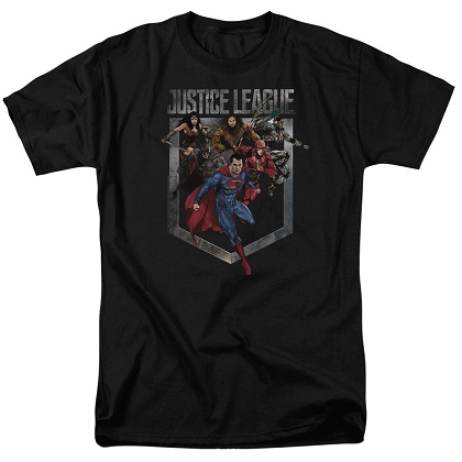 Justice League Charge Tshirt