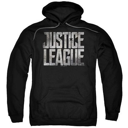 Justice League Logo Black Hoodie