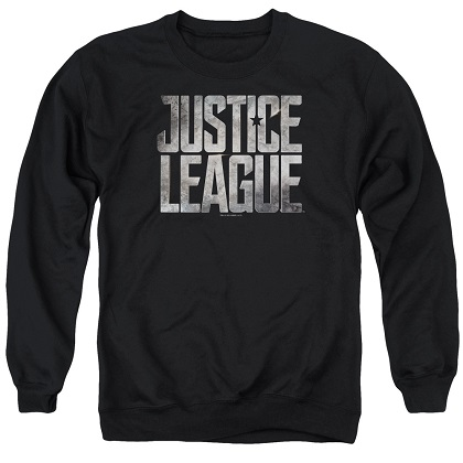 Justice League Logo Crewneck Sweatshirt
