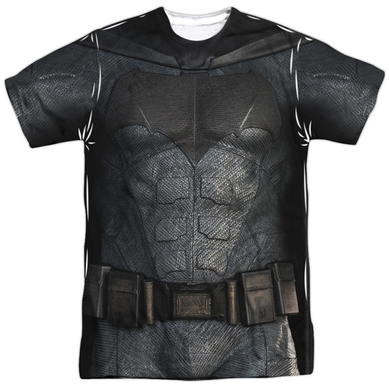 Batman Justice League Front and Back Print Costume Tee