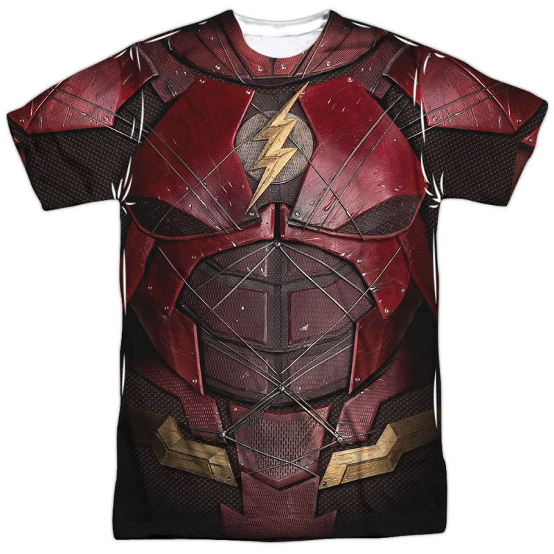 The Flash Justice League Costume Tee