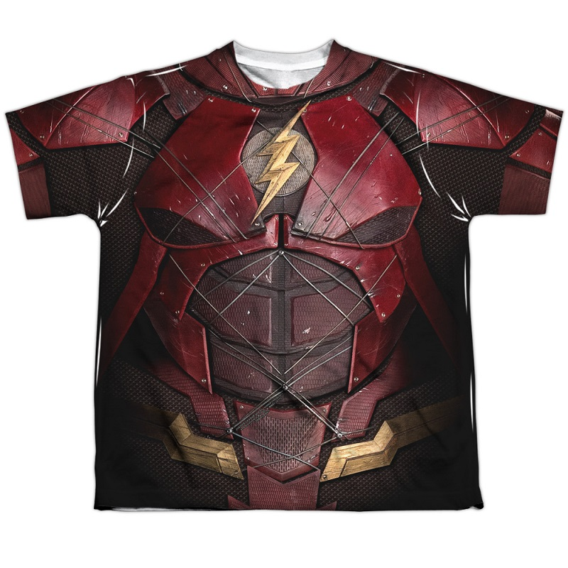 The Flash Justice League Youth Costume Tee
