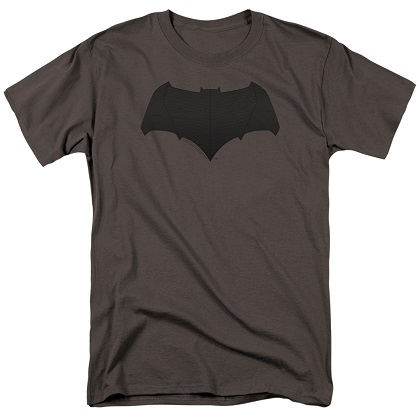 Justice League Batman Logo Grey Tshirt