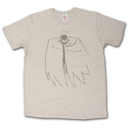 Batman Outline Tee - Chestnut