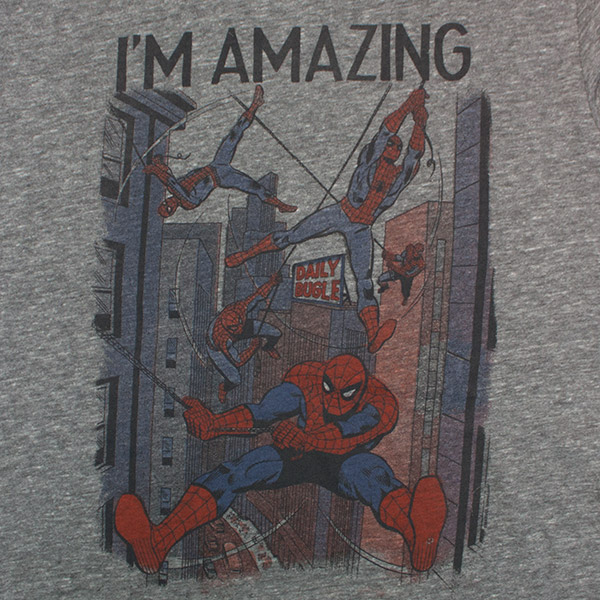 Junk Food Brand I'm Amazing Spider-Man T-Shirt