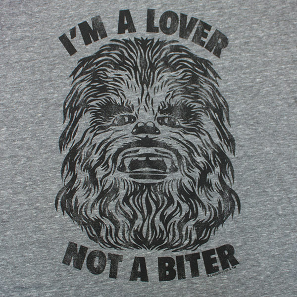 Junk Food Brand Chewbacca Lover T Shirt