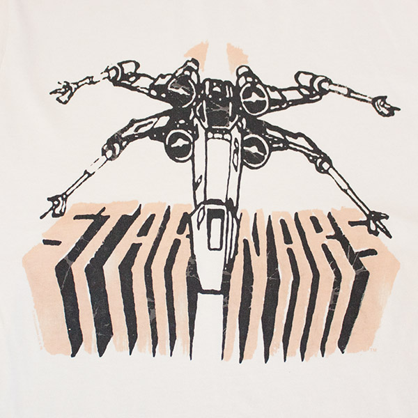 Star Wars Junk Food Brand Eggshell X-Wing T-Shirt