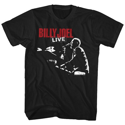 Billy Joel Piano Live Tshirt