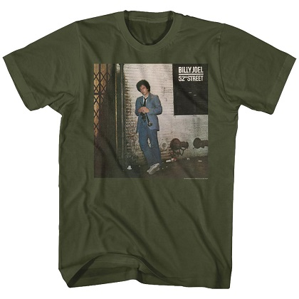 Billy Joel 52nd Street Tshirt