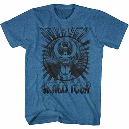 Journey Old Shirt Mens Pacific Blue T-Shirt