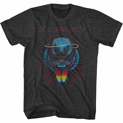 Journey Beetle Planet Mens Black T-Shirt