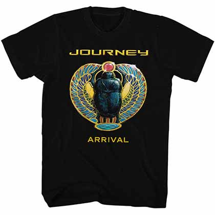 Journey Arrival Mens Black T-Shirt