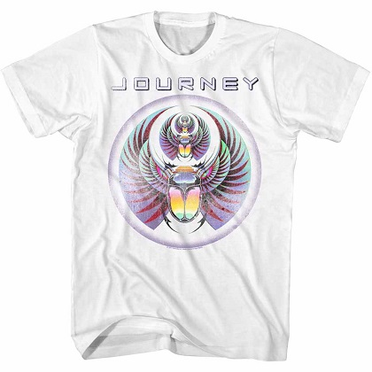 Journey Scarab White Tshirt