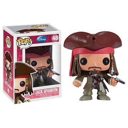 Funko Disney Jack Sparrow Pop Vinyl Figure