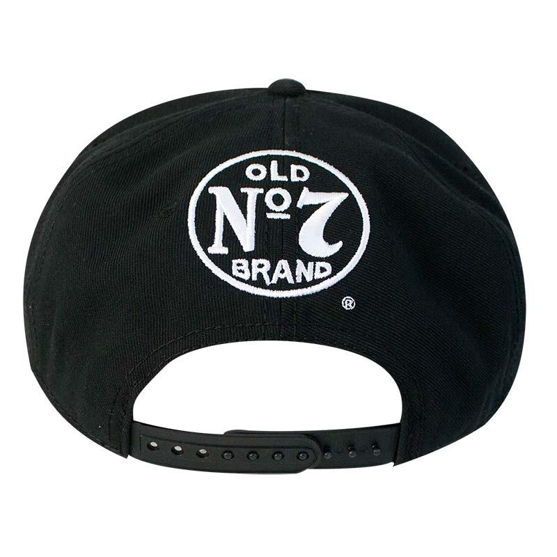 Jack Daniels Old No. 7 Black Snapback Hat