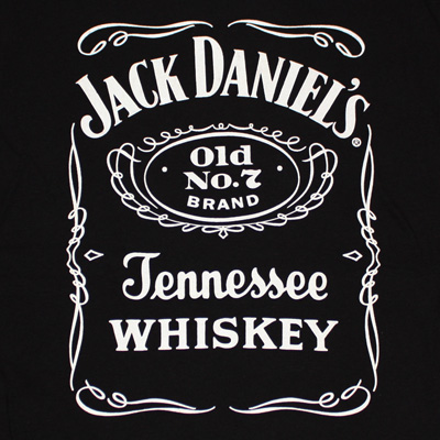 Jack Daniel's Label Black Men's Shirt