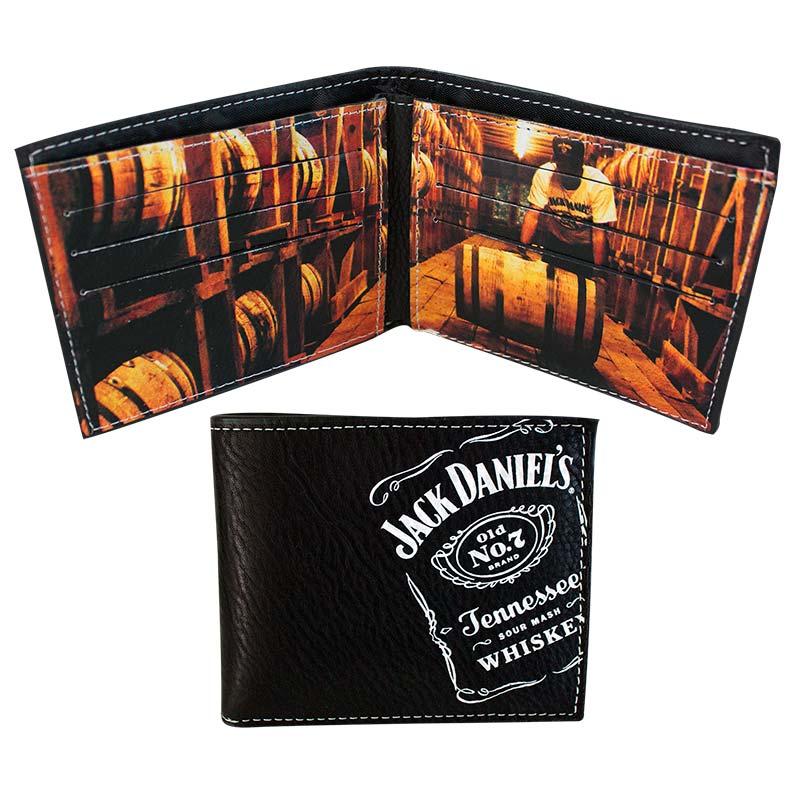 Jack Daniels Old No. 7 Barrels Bifold Wallet