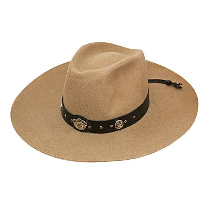 Jack Daniels Soft Wool Beige Water Repellant Hat