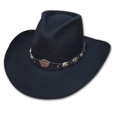 Jack Daniel's Black Cowboy Hat