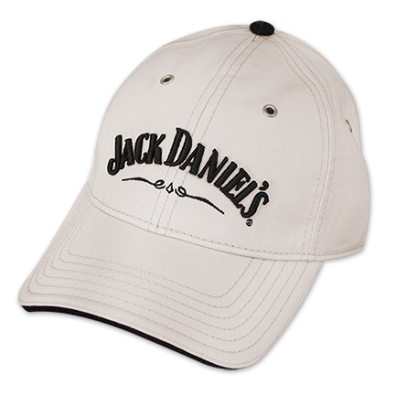 Adjustable Ivory Jack Daniel's Since 1866 Hat