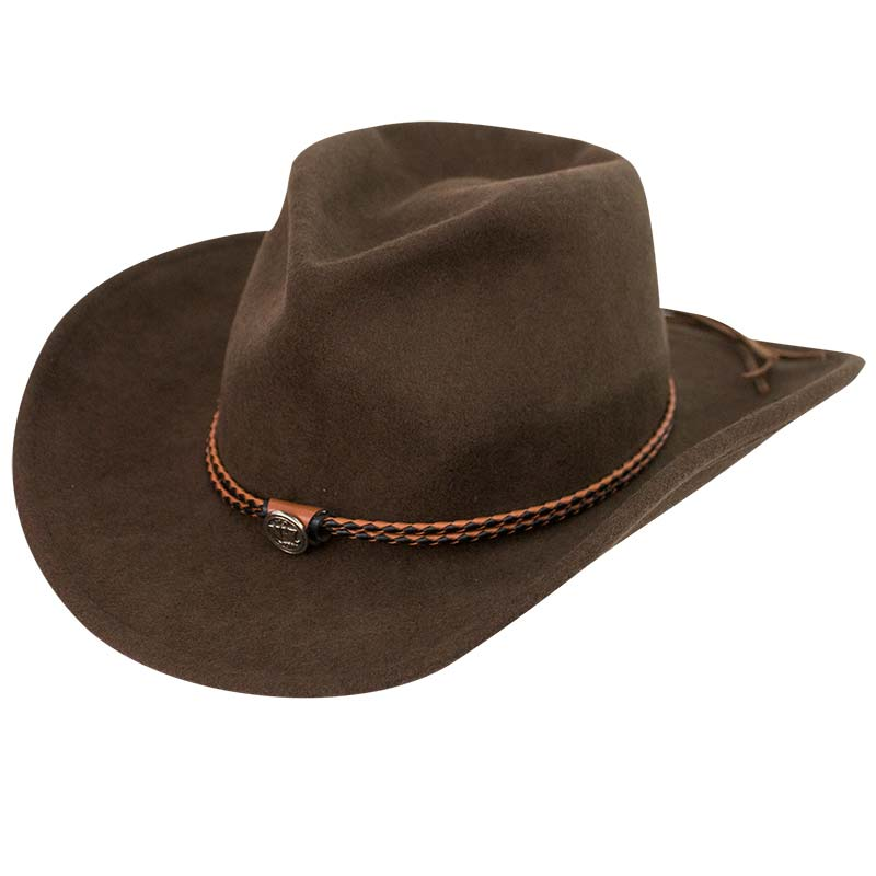 Jack Daniels Brown Cowboy Hat