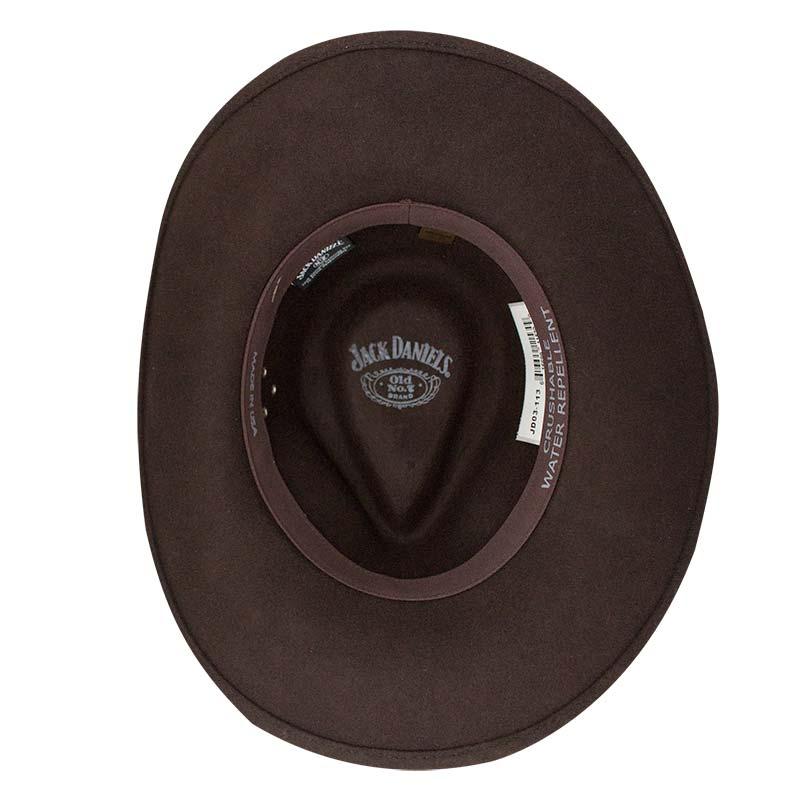 Jack Daniels Brown Soft Wool Hat 8052346d42cd