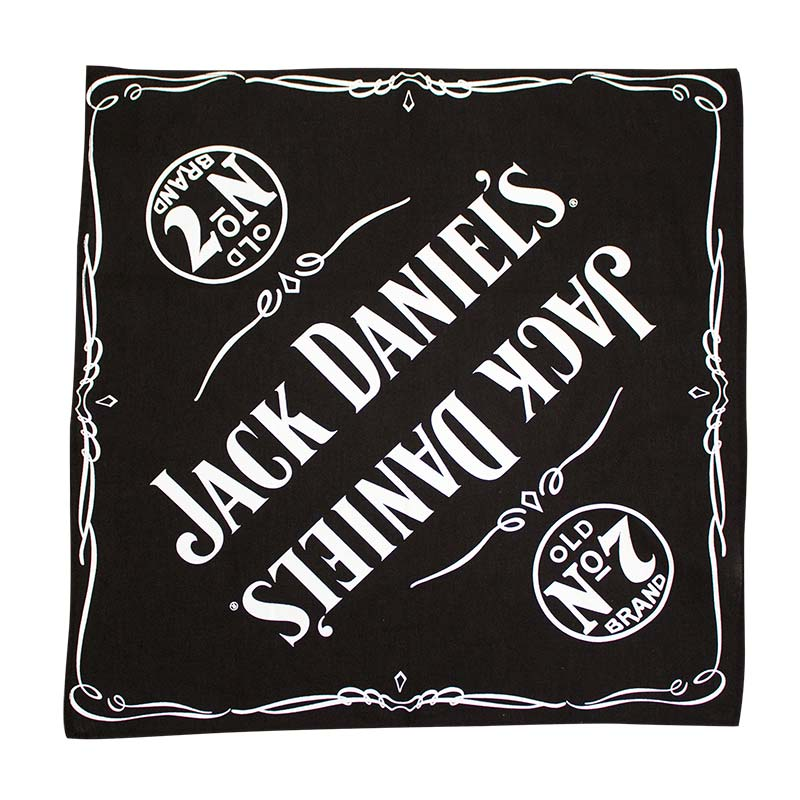 Jack Daniels Old No. 7 Black Bandana