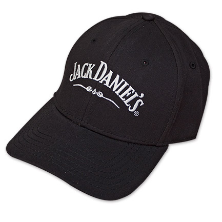 Black Flex Fit Jack Daniel's Jack Lives Here Hat