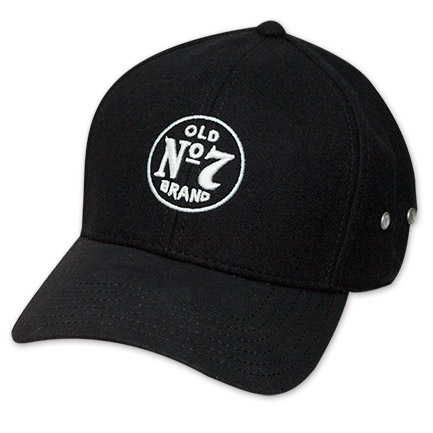 Jack Daniels Old No. 7 Logo Flex Fit Baseball Hat