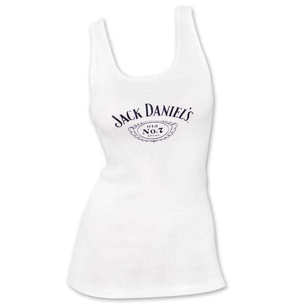 Jack Daniel's No. 7 Women's TTop - White