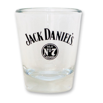 Jack Daniel's Old No. 7 Logo Shot Glasses