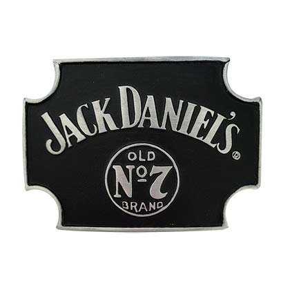 Jack Daniels Sign Belt Buckle